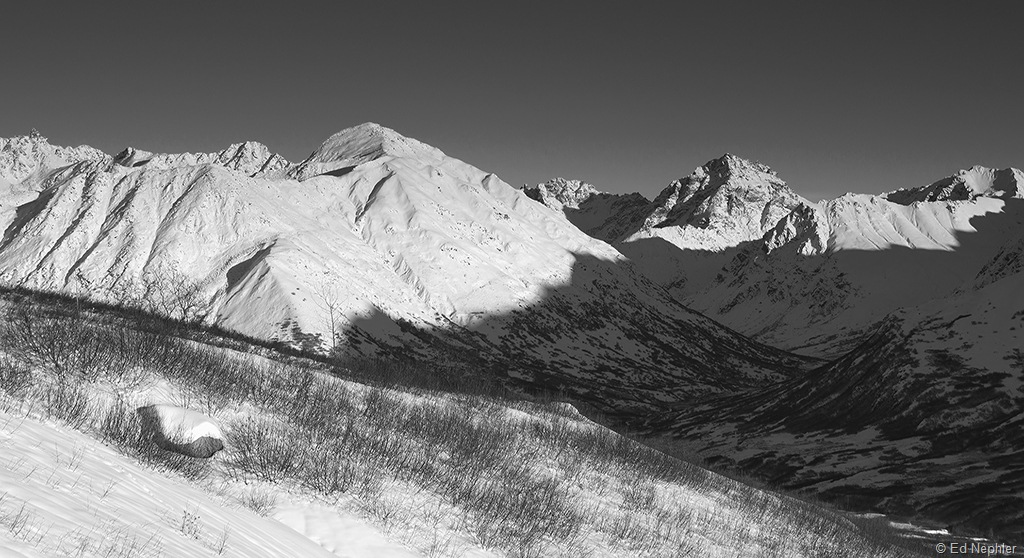 Hatcher Pass View BW 120110.01.1024