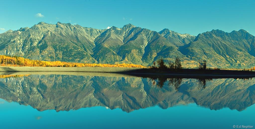 Knik River Reflections 092210.02.1024