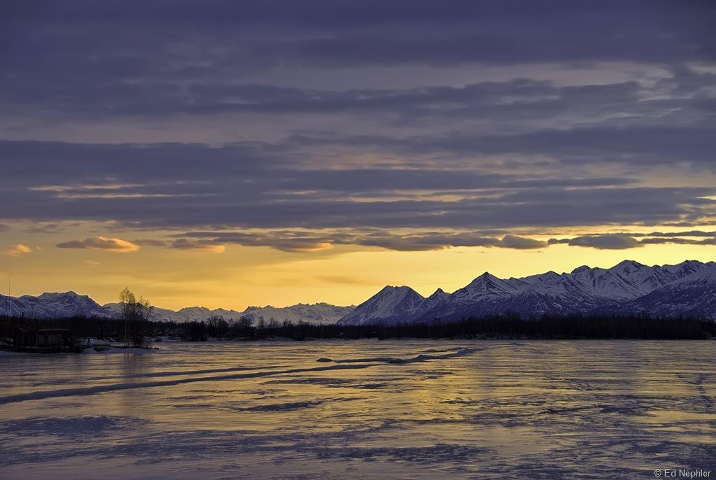 Sunrise at Wasilla Lake 02.21.10.02.1024