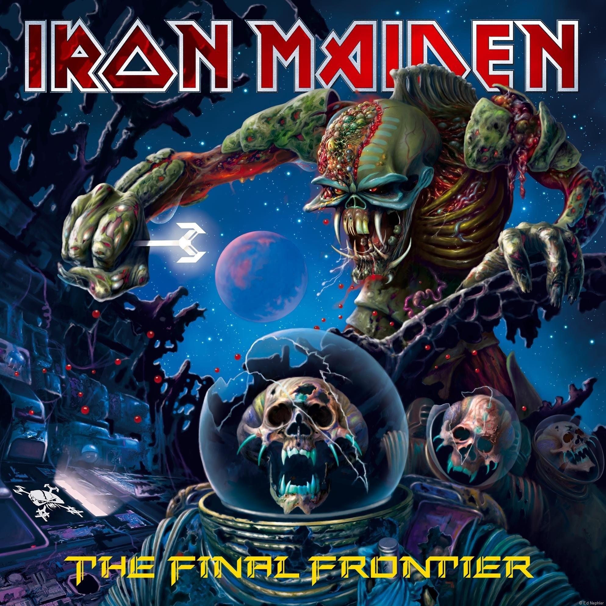 Iron Maiden - The Final Frontier VOORKANT